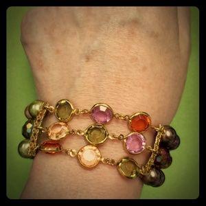 "Premier Designs Rare ""Kaleidoscope"" Bracelet"
